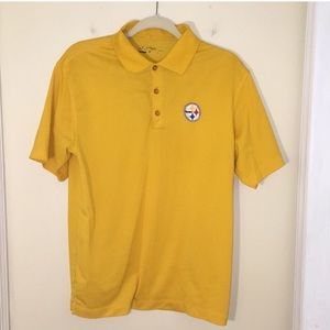 Nike Embroidered Pittsburgh Steelers Polo Shirt